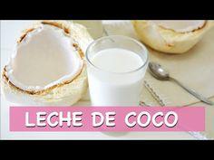 Básicos: Cómo hacer LECHE DE COCO| Leches vegetales - YouTube