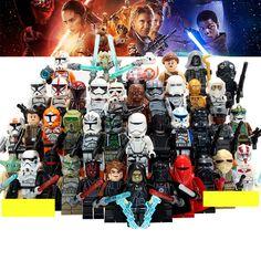 Blocks Toys & Hobbies 50pcs Star Wars First Order Stormtrooper Rebel Clone Trooper Army Clonetrooper Robot Figure Building Block For Children Toy Superior Materials