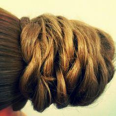 Beehive ponytail updo Prom hair wedding hair special event hair Asthecurlturns.com Facebook.com/victoryroll Doordye-sj.com