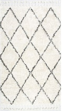 Langley Street Twinar Hand Knotted Black Area Rug Rug