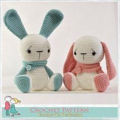 Amigurumi Sitting Bunny 2 in 1