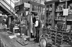 An Early Auto Parts Store in the United Kingdom | The Old Motor