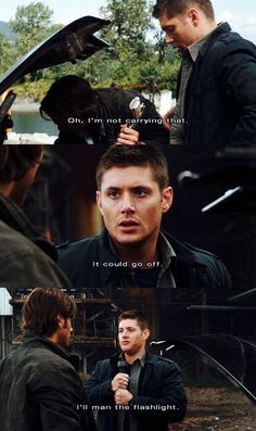Supernatural || Yellow Fever.   I love the writers of this flipping show.