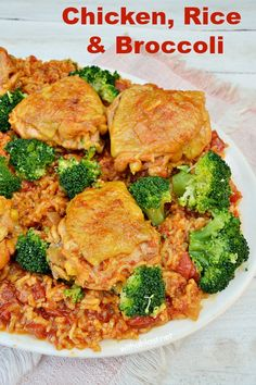 ... Rice on Pinterest | Chicken with rice, Rice casserole and Chicken rice