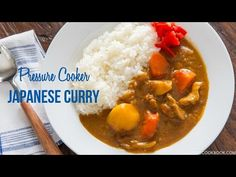 Pressure Cooker Japanese Curry カレーライス (圧力鍋) • Just One Cookbook