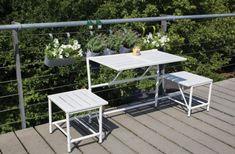 table de balcon suspendue ikea balcon pinterest. Black Bedroom Furniture Sets. Home Design Ideas
