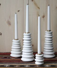 diy candle holders with marbles