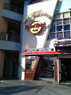 hard rock cafe osaka!!