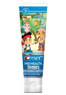 Crest Pro-Health Stages Disney Jr. Jake and the Neverland Pirates Toothpaste