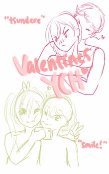 valentines humanoid ych! ota [closed] by yuesli