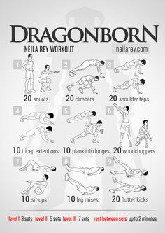 Dragonborn Workout