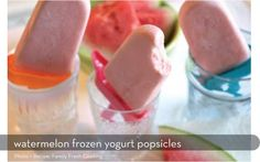 my new obsession. bought these Popsicle molds, and I've made strawberry frozen yogurt, strawberry mango frozen yogurt, and strawberry lemonade pops. YUMM!