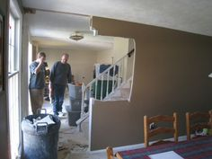 removing wall from staircase | How to Remove Stud Walls to Create an Open Floor Plan