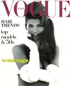 .<3. SHANA ZADRICK Vogue Supplement Cover (Italia) 1991 by Steven Meisel  .<3.