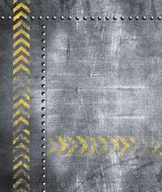 Grunge Metal Plates Set (Set of 7) - Metal Textures