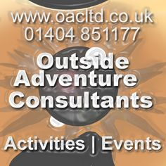 Activities and Events! That just doesn't cover it! Corporate, team-building, staff/client rewards, stag do's, hen do's, upper managerial team building events, over-nighters  ...or just a birthday or family celebration where you need a bit of added fun! Call us! 01404 851177