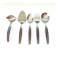 Reserved  Scandinavian Style Flatware by by JustSmashingDarling