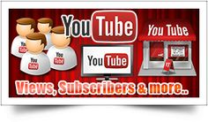 YouTube is the most popular video sharing website and a YouTube video can be one of the most powerful medium to get your message across and we help you get that kick start in promoting your videos. Give your video an instant popularity and Improve your reputation with more subscribers to your channel with our professional youtube views and subscribers packages. Choose and order your package for Youtube Views and Subscribers - http://seoservicesmaster.com/buy-youtube-services/