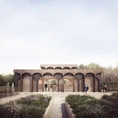 Renderings by Forbes Massie for Seduction of Light exhibition #classicalarchitecture
