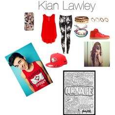 Kian Lawley inspired outfit., created by morgan30gotavld on Polyvore