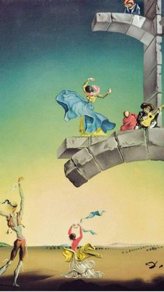 Salvador Dali _ I see Outside Play for children.