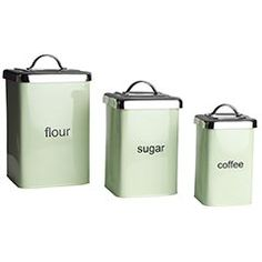 Kitchen canisters @Mark Rogers