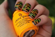 neon stripes of awesome