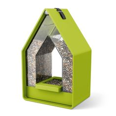 Bird feeder and a place for little songbirds to rest: the Landhaus bird feed dispenser – EMSA