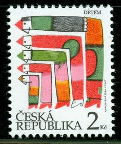Czech Republic Scott 2921 Childrens's Day MNH | Kveta Pacovska | G5788 | eBay