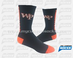 Elite Style socks designed by My Custom Socks for William Paterson University in Wayne, New Jersey. Football socks made with Coolmax fabric.#Football custom socks - free quote! ////// Calcetas estilo Elite diseñadas por My Custom Socks para William Paterson University en Wayne, New Jersey. Calcetas para Futbol Americano hechas con tela Coolmax. #FutbolAmericano calcetas personalizadas - cotización gratis!www.mycustomsocks