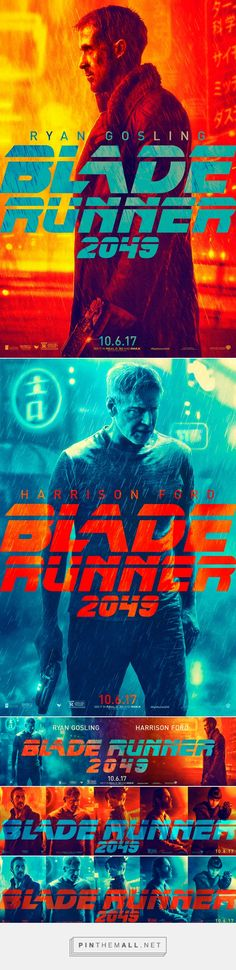 Behind the Art Direction & Brand Identity of Blade Runner 2049... - a grouped images picture - Pin Them All