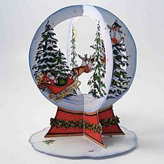 Santa Snow Globe Christmas Card Measures: x Inside is blank for your personal message. Saying on Front of Card: Merry Christmas You are in the right place about DIY Fairy Garden cheap He Diy Christmas Elves, Christmas Globes, Diy Christmas Cards, Xmas Cards, Handmade Christmas, Holiday Cards, Snow Globes, Merry Christmas, Christmas Paper