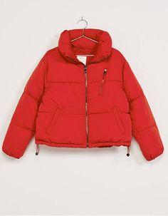 Doudoune femme rouge / 22 doudounes femme pour accueillir l'hiver / Fashion / Winter / Coats