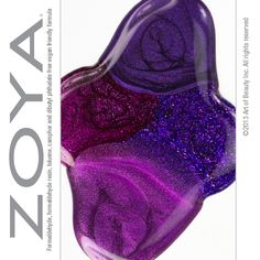 Born in February - Celebrate your birth month by dressing up your nails with any of these attention-getting amethyst lacquer shades - Zoya Nail Polish in Suri (top), Zoya Mimi (right), Zoya Juno (bottom) and Zoya Jem (left).
