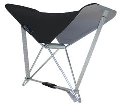 Buy Y.Ply Portable Outdoor Seat and Back Rest - Grey today at IWOOT. We have great prices on gifts, homeware and gadgets with FREE delivery available. Camping Stool, Camping Furniture, Couch Furniture, Camping Chairs, Camping Gear, Great Gifts For Women, Unique Gifts For Her, Laying On The Beach, Butterfly Chair
