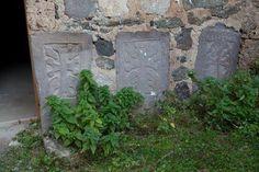 Khachkars at Dadivank, Arcakh