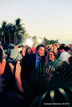 Hawaii Five-0 Red Carpet at Sunset on the Beach (September 13, 2010)     I like this one