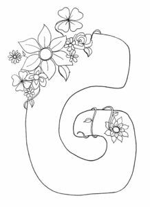 Printable Alphabet Coloring Pages Printable Coloring Pages To Print Printable Coloring Book Free Kids Coloring Pages Coloring Pages