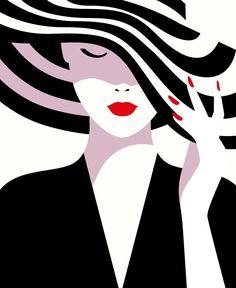 Sephora us - malika favre arte minimalista, obras de arte, pintura y dibujo Penguin Books, Malika Fabre, Desenho Pop Art, Graphic Art, Graphic Design, Poster S, Arte Pop, The New Yorker, Fashion Art