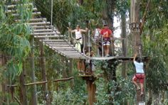 Accrobranche, balade dans les arbres Rafting, Arch, Places To Visit, Outdoor Structures, Garden, Photos, Zip Lining, Ride Or Die, Corse