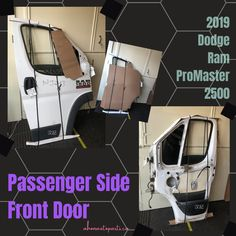 2019 Dodge Ram ProMaster 2500 Passenger Side Front Door (Used) #used #autoparts #lkq #mint #recycledparts #salvage #oem #door #toronto #ahonautoparts