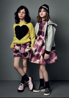 MSGM_kids Preteen Fashion, High Fashion Outfits, Toddler Fashion, Cute Fashion, Kids Fashion, Bebe Love, Msgm Kids, Cool Girl Style, Little Girl Fashion