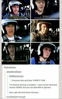 AHAHAH I LOVE THEM ALL BUT ESPECIALLY BENEDICT AND TOM
