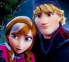 "Is it just me or does Kristoff look way more devastated about Anna's death then she is? I mean look at those puppy dog eyes. And the trolls aren't even saying ""Sorry Anna."" They say ""Sorry Kristoff. Gif Disney, Disney And Dreamworks, Disney Love, Disney Magic, Disney Pixar, Walt Disney, Disney Characters, Frozen And Tangled, Disney Frozen"