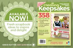 Scrapbooking Layouts, Scrapbooking Ideas, Cool Scrapbooking Tools and More! | Creating Keepsakes