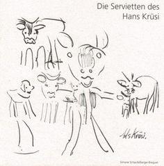 Die-Servietten-des-Hans-Krüsi Art, Dinner Napkins, Switzerland, Kunst, Art Background, Performing Arts, Art Education Resources, Artworks