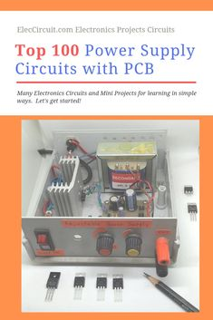 A power supply circuit is what the importance of various electronic projects. My website has a big size grow up every day. Sometimes, you may look for them are difficult. So I collect them (over on Category: Power supply circuit. Electronics Projects, Cool Electronics, Electronics Components, Electronic Circuit Design, Electronic Engineering, Electrical Engineering, Led Projects, Electrical Projects, Ham Radio