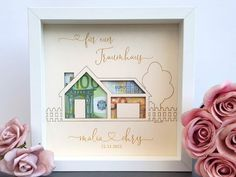 Home Wedding, Wedding Gifts, Money Frame, Birthday Money, Gift Table, Day Wishes, Sell On Etsy, Diy Gifts, Picture Frames