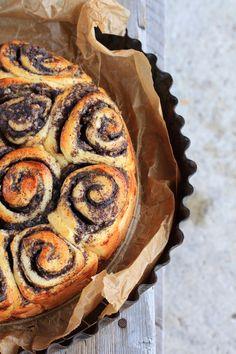 Gutes für Leib & Seele: Apfel-Mohnschneckenkuchen