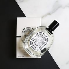Florabellio by Diptyque. An intriguing fragrance. Opens with a mist of salty sea spray, before unfolding around soft and sensual apple blossom and apricot and warming into roasted coffee and toasted sesame accents.